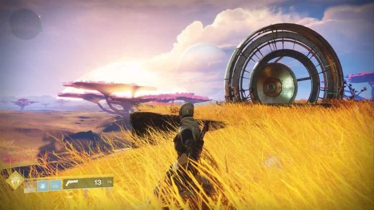 Destiny 2 - Warlock auf dem Merkur