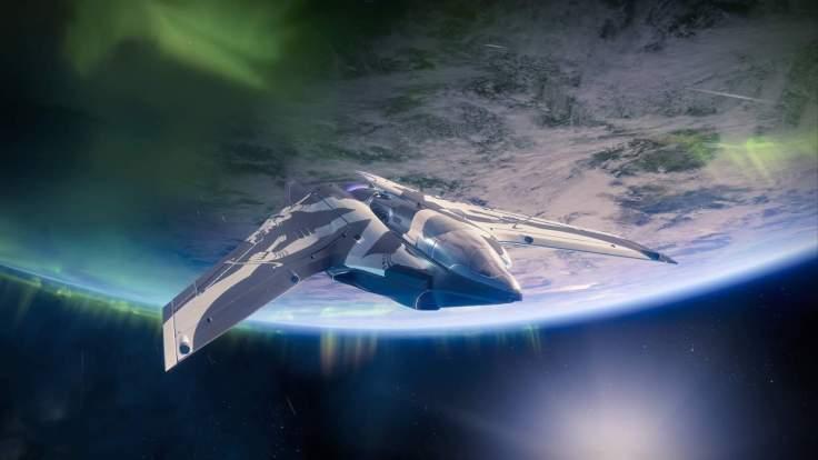 Destiny 2 - Raumschiff im Orbit